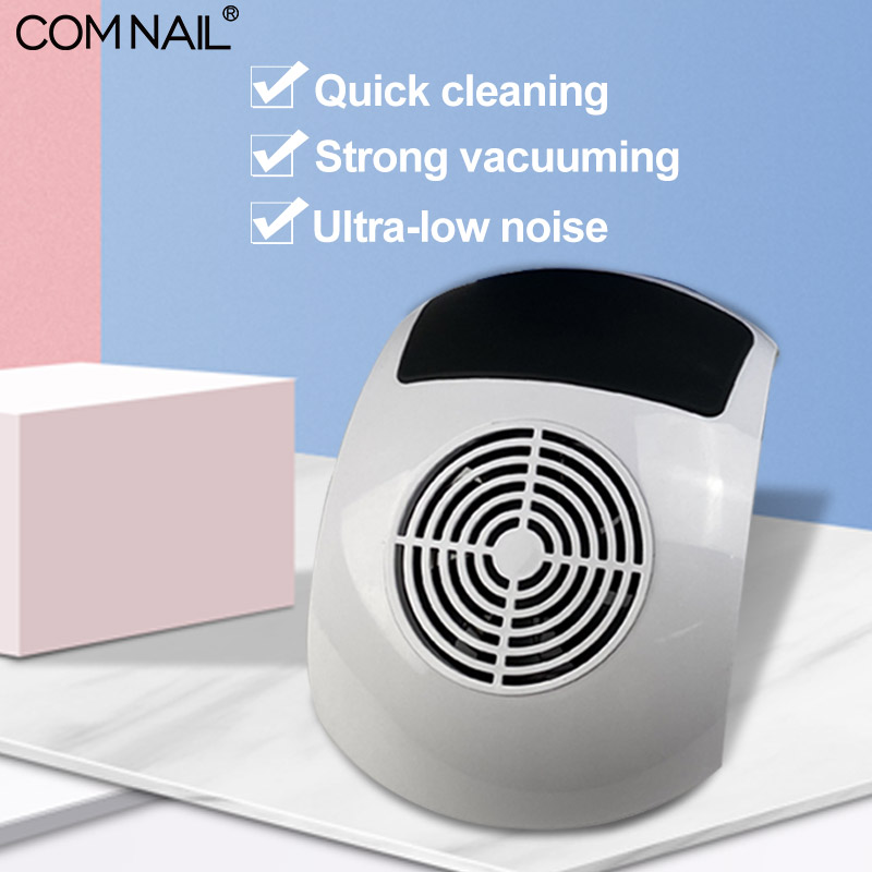 Nail Dust Collector Vacuum Cleaner Manicure Salon Nail Art Dust Suction Machine With Hand Pad Strong Power Fan Quick Cleaning