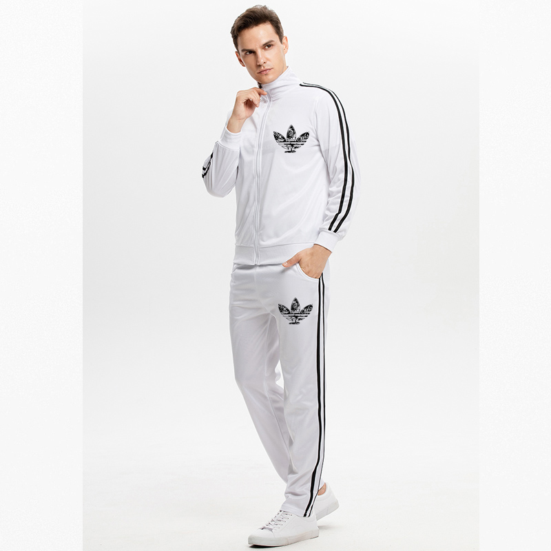 M-XXL Code Genuine Brand Men Tracksuit New Spring And Autumn Men's Sports Set Comfortable Breathe Freely Jogging  Track Suit