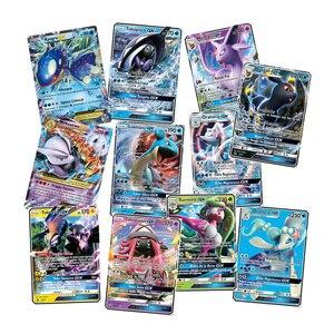 200 Pcs French Version Pokemon GX Card Shining TAKARA TOMY Cards Game Battle Carte Trading Children Toy