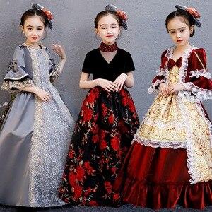 Платье с цветами для девочек, 2020 г., платье для торжеств для девочек, платье для свадебной вечеринки, платье для выпускного бала для девочек, ...