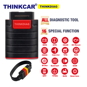Thinkdiag full system OBD2 Scanner easydiag Car Diagnostic Tool with 16 reset function easy diag with obd2 cable PK AP200(China)