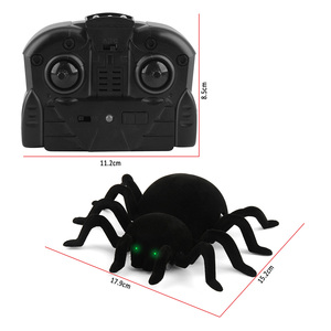 Image 5 - Rc 壁クライミングクモシミュレーションジョーク怖いトリック怖がっ電子スパイダー玩具ストレンジャーもののおもちゃ子供 игрушки