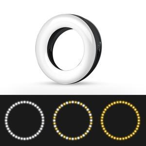 Image 3 - Handy Nachschub Lampe LED Live Nachschub Lampe Selfie Licht Artefakt Rund Schönheit Host Ring Licht Make Up Licht