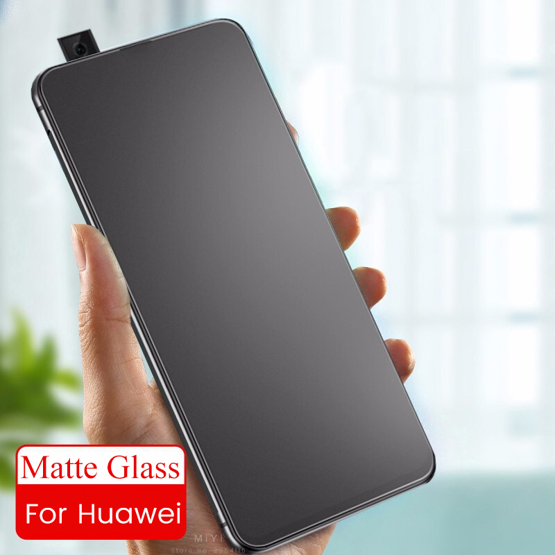 Matte Protective Glass For Huawei Y9s Y6s 2020 Frosted Screen Protector Y7 Y6 Pro Y9 Prime Y5 2019 Armored Tremp Film Protection