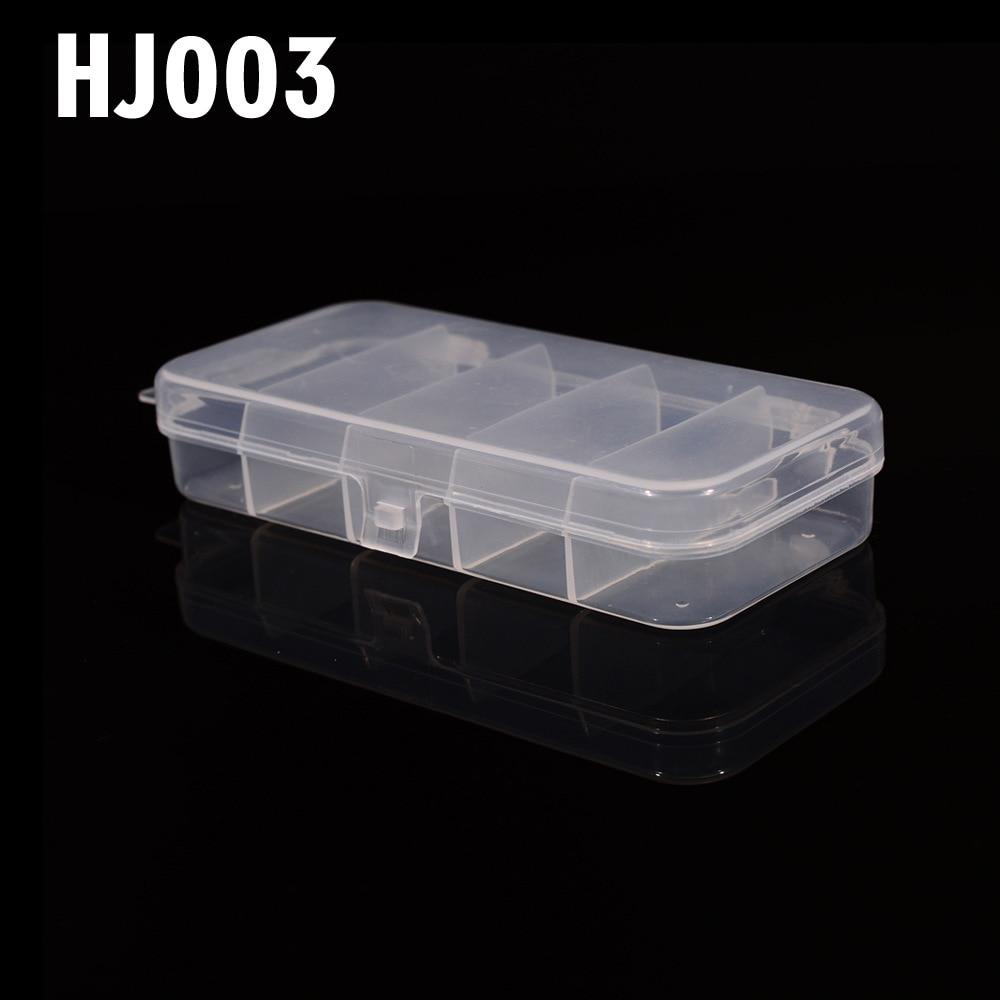 PRO BEROS Lure Case Fishing Bait Box Tool Box Multifunctional Fishing Tackle Box HJ003 Fishing Accessory 136*65*26MM Pesca