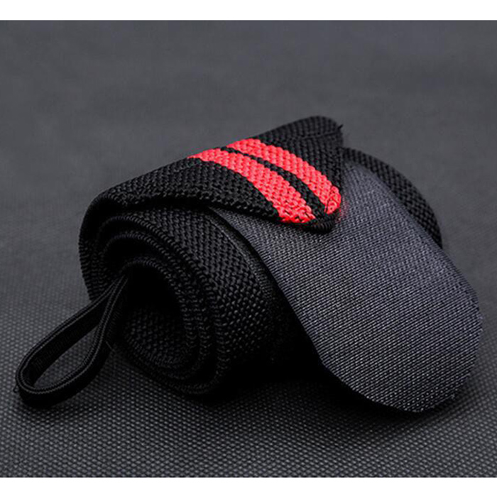 1 шт. желтые обертывания для рук, защита запястья, пояс для тяжелой атлетики, повязка красного цвета для кроссфита, бодибилдинга, пауэрлифтинга, поддерживающий ремень, цвет - Цвет: Red