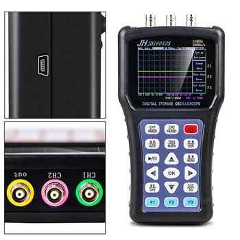 2020 Portable Oscilloscope Digital Signal Function Generator JDS6052S 2CH 50M 200MSa/S 5 Languages Signal Generator - DISCOUNT ITEM  16 OFF All Category