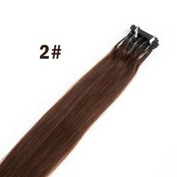 6D-2 do przedłużania włosów s ludzkie włosy 10 sztuk 40-60cm ludzkie włosy naturalne 6D do przedłużania włosów dziewicze włosy 6D drugiej generacji naturalne włosy tanie i dobre opinie CN (pochodzenie) 40cm-70cm Złącza Virgin Hair 6d Hair Extension