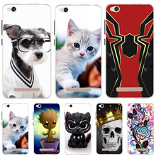For Xiaomi Redmi 4A Case Dog Cat Animal Cute Silicone Cover Coque Xioami Capa Xiomi Redmi4a Phone