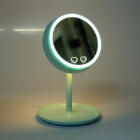 3 in 1 LED Vanity makeup Mirror With LED Lights Table Colorful bedsid Lamps compact/cosmetic mirror Make up Illuminated