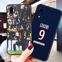 Yinuoda Phone Case For PSG FC Black Soft TPU For Cavani Huawei DIY Picture Cover Mate 10 Pro P20 Pro P8 P9 Honor 9 8 Lite P30(China)