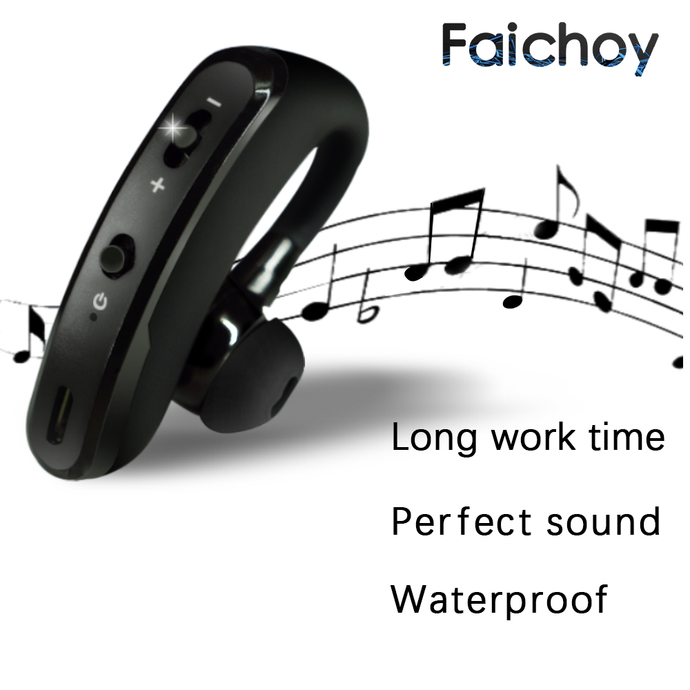 Bluetooth Earphone Wireless Headphone Handsfree Headset Earbud With HD Microphone For Driver Sport Phone iPhone Samsung xiaomi
