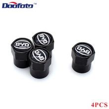 Doofoto 4x колпачки для автомобильных клапанов, колпачки для колесных шин, защитный чехол для BYD F3 F0 S6 F3R F0 F 3 Аксессуары для стайлинга автомобилей для всех автомобилей