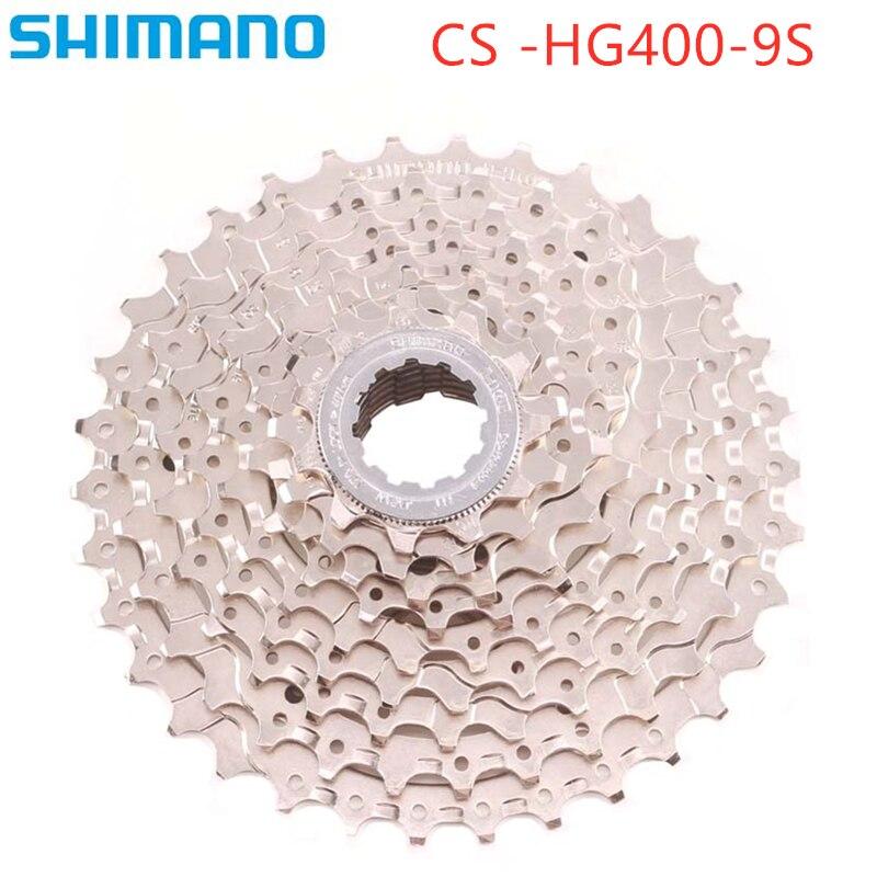 Shimano hg400 CS-HG400-9 9s cassete 11 t-32 t 11-34t 11-36t mtb 9 velocidade bicicleta roda livre