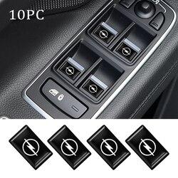 10 шт. 3D автомобильный Стайлинг эпоксидная смола эмблема значок наклейка наклейки для Opel Astra H Vectra C Insignia Mokka Antara Corsa аксессуары