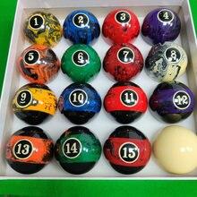 Ensemble complet de 16 boules de billard en marbre et résine de 57.25mm, accessoires pour boules de billard de 2/1/4 pouces