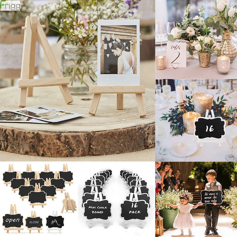 Mr Mrs Wedding Love Wood Display Easels Rustic Wedding Engagement Decor Wedding Deco Frame Painting Poster Weeding Table Decor