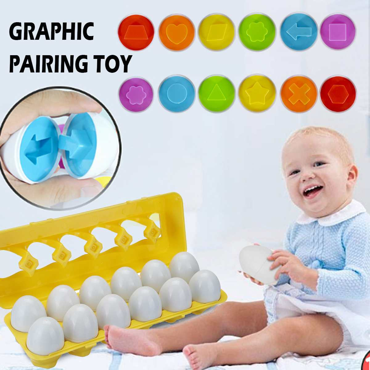 Cognitive Development Geometric Eggs