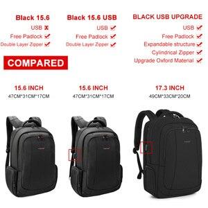 Image 3 - Tigernu Anti hırsızlık naylon 27L erkekler 15.6 inç Laptop sırt çantaları okul moda seyahat sırt çantası sırt çantası erkek Laptop çantası