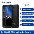 Blackview A10 MT6580A Quad Core 2GB RAM 16GB ROM 5 zoll HD 3G Smartphone Android 7,0 Fingerprint 8,0 MP Handy PK X30 X60L