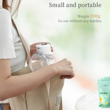 Electric Breast Pump Silent Wearable Automatic Milker Portable Milk Extractor 77HD