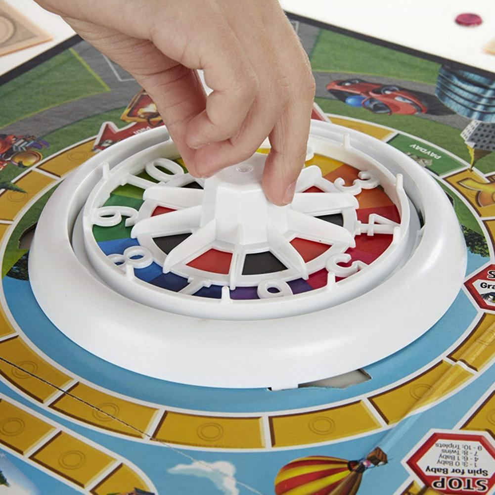 Life Tour Turntable Card Game Life Board Game Durable Fun Great Family Gaming Cards For Vacation Choices