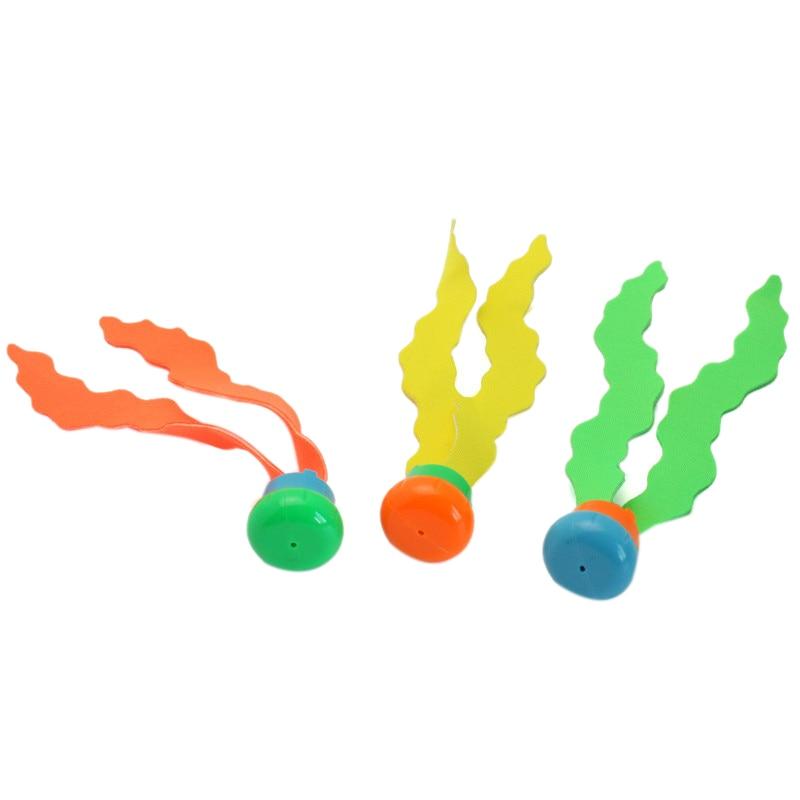 3Pcs Summer Swimming Pool Diving Toys Children'S New Exotic Diving Ring Toys Swimming Pool Diving Ring Water Toys Children Swimm