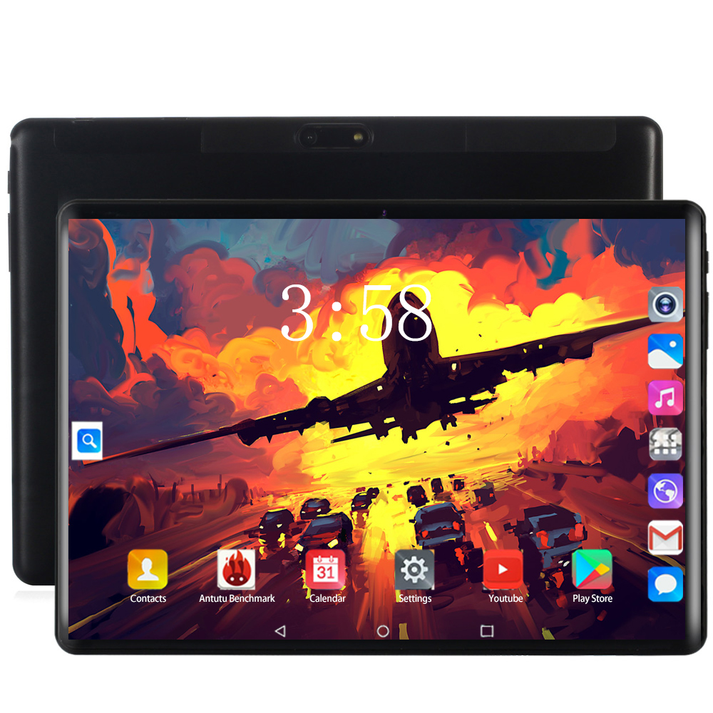 2020 CARBAYTA 128G Global Bluetooth Wifi Android 8.0 10.1 Inch Tablet Octa Core 6GB RAM 64GB 128GB ROM Dual SIM Cards Tablet 10