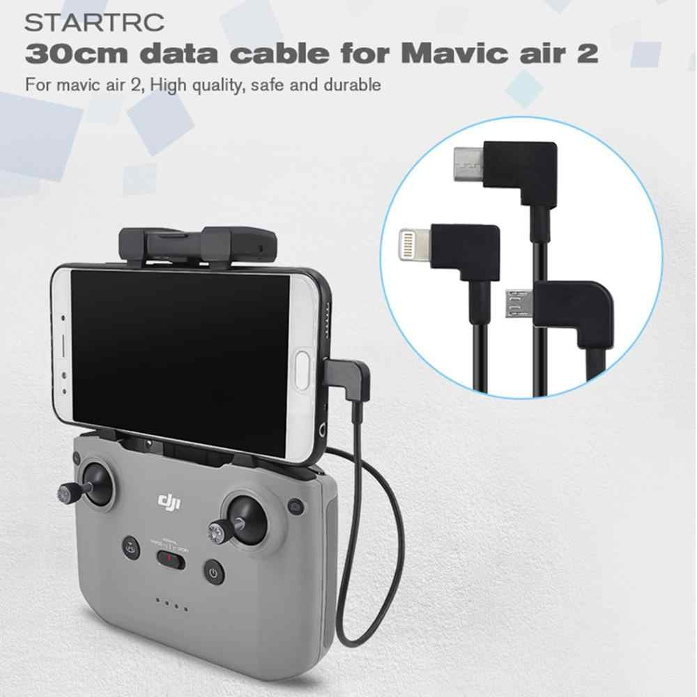 Remote Control Tablet Expansion Bracket For DJI Mavic Air 2 With Data Cable