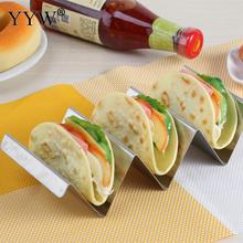 Kitchen Accessories Sandwich Breakfast Holder Mexican Pancake Taco Stand Stainless Steel Food