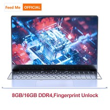 15.6 inch 8GB16GB laptop Fingerprint Unlock intel 3867U windows10 SSD Notebook for office CF MC LOL Game