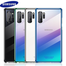Samsung Note 10 plus Case Original Clear Hard Cover Transparent PC plating SAMSUNG Galaxy Note 10 plus 5G Note10 Pro Back case samsung note 10 plus case original clear hard cover transparent pc plating samsung galaxy note 10 plus 5g note10 pro back case