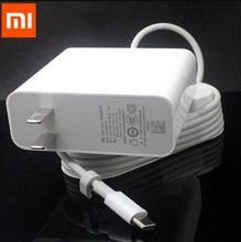 "שיאו mi USB C מטען 45W 65W QC 3.0 USB plug סוג C כבל מתאם mi טלפון נייד אוויר פרו 12.5 13.3 15.6 פ""ד 2.0 טעינה מהירה"