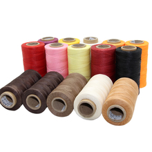 MIUSIE Durable 150D 250 Meters Leather Waxed Thread Cord for DIY Handicraft Tool Hand Stitching Thread Flat Waxed Sewing Line