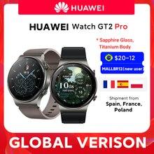 CODE :SUM99M 12€ off HUAWEI-reloj inteligente Watch GT 2 pro, dispositivo con batería de 14 días de duración, GPS, carga inalámbrica, Kirin A1, GT2 Pro, versión Global, disponible