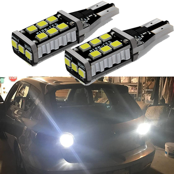 2x T15 921 912 W16W T16 Car Backup Reverse Light for Mercedes Benz W220 W213 W176 ML CLK W201 W208 W123 W164 SLK Canbus LED Bulb image
