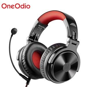 Image 1 - OneOdio Pro M Bluetooth 5.0 Không Dây Tai Nghe Chụp Tai Chơi Game Có Dây Tai Nghe Có Mic Cho PS4/ XboxOne Trên Dây lớp Kinh Doanh Tai Nghe