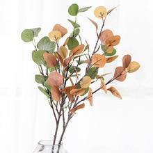 Simulation flower simulation plant home decoration money leaf eucalyptus fake green