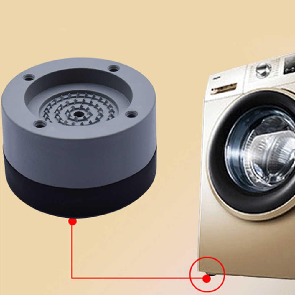 HTYA Anti-Slip And Noise-reducing Washing Machine Feet Pad Anti Slip Rubber Foot Pad for Washing Machines And Dryers 3.5 CM