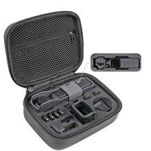 กระเป๋าเก็บ Osmo แบบพกพา PU กันน้ำโช๊คอัพกระเป๋ากรองอะไหล่กล่องสำหรับ dji osmo กล้องพ็อกเก็ต