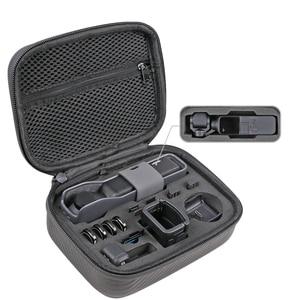 Image 1 - storage bag Osmo pocket Portable case PU waterproof  Shock absorber bag filter Spare parts box for dji osmo pocket camera