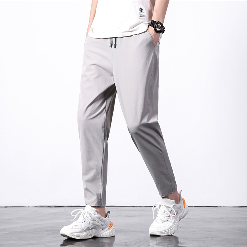 Men Capri Pants 2019 Summer Loose And Plus-sized Casual Pants Men'S Wear Fashion Athletic Pants Men's 9 Pants