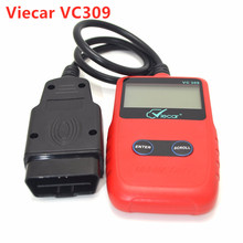 Auto Diagnostic Scanner Tool Viecar VC309 For Car Support 9 Protocols OBD2 Asian European EOBD Code Reader