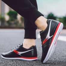 Men Sneakers Fashion Casual Shoes Leather PU Low-top New Man
