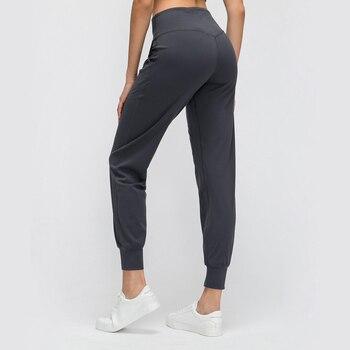 Женские спортивные штаны Nepoagym, спортивные штаны с начесом, устойчивые к скрабу, с карманами, на ощупь