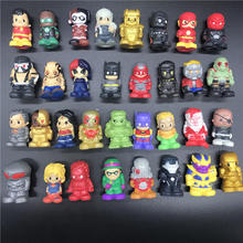 MARVEL Pencil Toppers Series 1 2 3 The hulk Super Hero Model Figure Spiderman Vinyl Action Soft Squishy Kids Gift