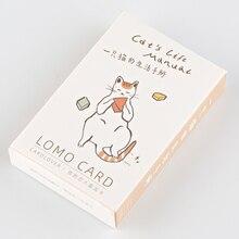 L59-Cat life paper поздравительная открытка ЛОМО(1 упаковка = 28 штук