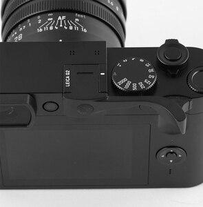 Image 5 - Aluminum Alloy Thumb Handle Metal Thumb Grip Hot Shoe Cover Camera Mount For Leica Q2 Q Typ 116 Black Red