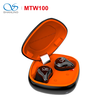 SHANLING MTW100 TWS Bluetooth 5.0 In-ear Earphone with Knowles BA/Graphene dynamic Driver AAC/SBC IPX7 waterproof