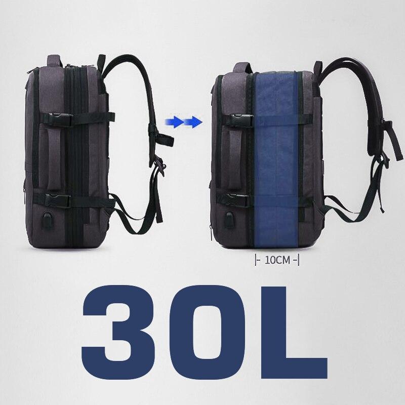 Women Men Travel Backpack Waterproof 17 Laptop Bagpack 15.6 Notebook Anti Theft Backpack USB Charger Smart Back Pack School Bags
